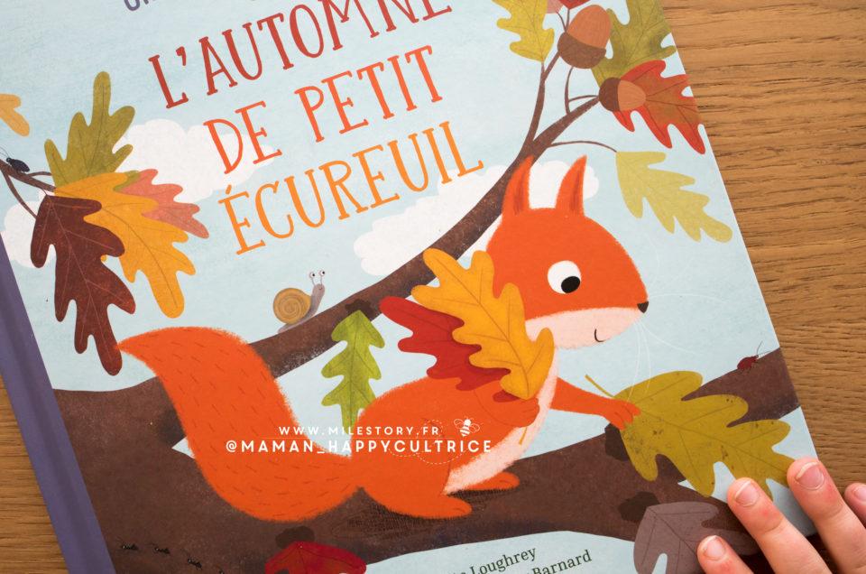 L'automne de petit écureuil